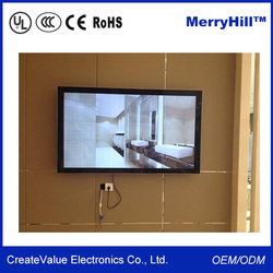 HD Player Video 42/ 46/ 55/ 65/ 70 inch Multimedia Advertising Digital Signage Display Stand
