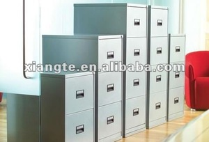 Factory outlet New style metal furniture vertical filing cabinet steel uniform cabinet for office usage with 2 3 4 drawer