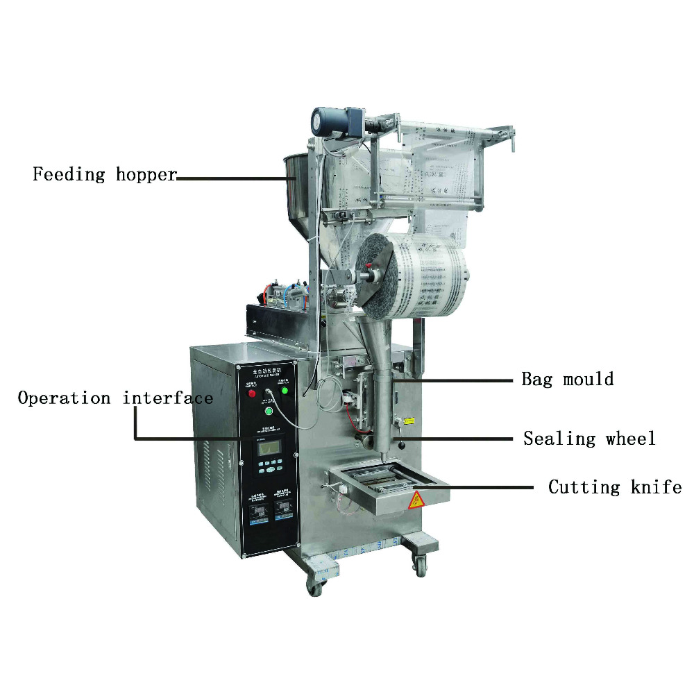 Shanghai factory new cheap automatic wasabi paste packing machine