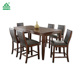 Heat selling dining table and chairs,6 seater dining table,malaysia dining table set