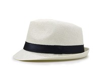 Dison felt fedora hat paper woven straw hat breathable hat for summer