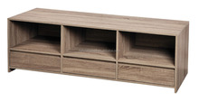 Simple wooden mdf display shelf, mdf TV unit furniture