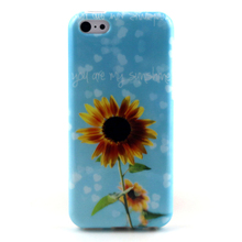 TPU phone protective phone case for iPhone 5c 5s se, IMD printing poster back cover