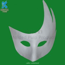Plain Blank White Paintable DIY Funny Masquerade Masks