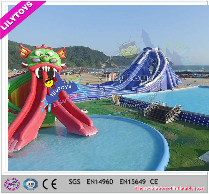 Lilytoys water play ground / Swimming Pool games / swimming pool games equipment