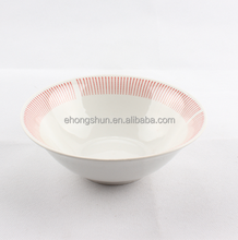 various size ceramic bowl customized ceramic soup bowl with spoon