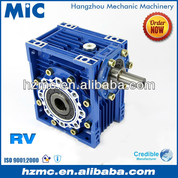 NRV Series Right Angle Worm Gear Rossi Like Speed Reduce Gearbox for Conveyor