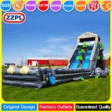ZZPL Giant Tropical Hippo Inflatable Water Slide for adults with High Quality