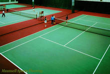 2017 outdoor interlocking plastic floor tiles/ PP plastic materials tennis court interlocking mat
