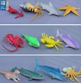 educational 8cm pvc sea animal toys figure for children