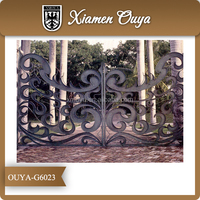 OUYA Door Iron Gate Design