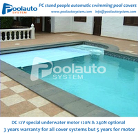 plastic swimming pool cover