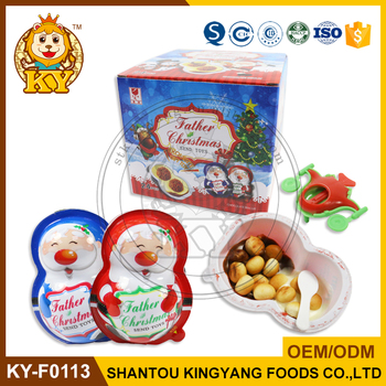 Santa Christmas Chocolate Biscuit Toy Egg