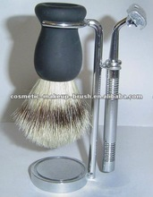 Professional shaving brush set