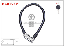 HC81212 hongcheng bicycle lock anti theft cable