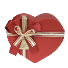 Custom heart shape luxury chocolate bar cardboard gift boxes packaging