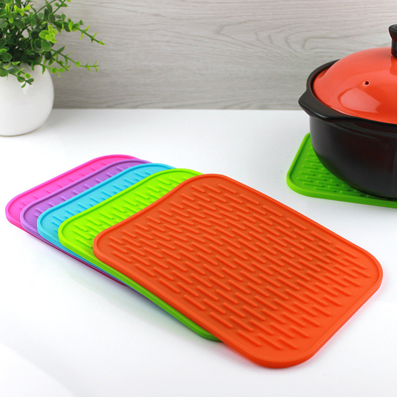 Kitchen Heat Resistant Silicone Dish Drying Mat