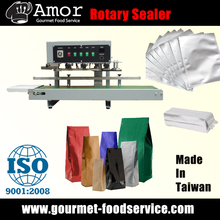 High Reliability Tabletop Vertical Rotary Heat Sealing Machine