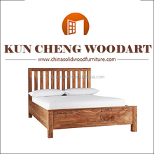 antique king bed/Solid timber wooden double bed/bedroom furniture set