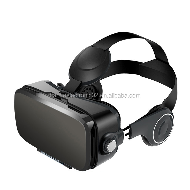 New entertainment virtual reality 2017 Best Selling VR 3D Glasses High Quality VR Headset