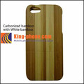High quality bamboo mobile phone case for iphone 5