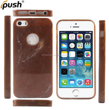 Scratch Resistant Original Particular Jade Design Rock Stone Painted Soft TPU Slim Fit Cover Case for iPhone 5