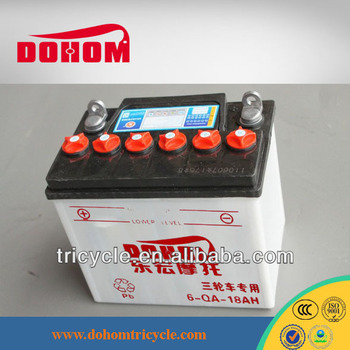 Motorcycle battery price of 12V 18AH MF Motorcycle battery