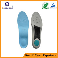 extremely breathable comfort EVA arch support inner soles for orthotics