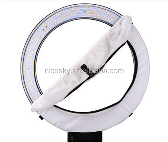 led Ring light macro photography with mirror diva on portail photography circle ring light