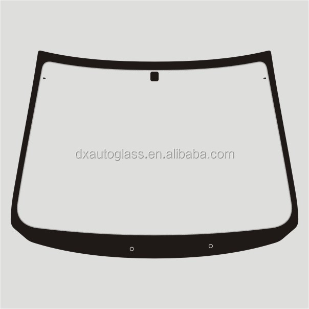 Auto Safety Laminated Glass Windscreen For B14
