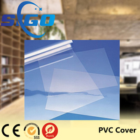 SIGO 210*297mm Green Color A4 PVC Book Binding Cover 0.14mm 0.15mm 0.25mm 0.25mm Transparent PVC Sheet