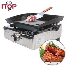 Portable Gas teppanyaki grill on sale