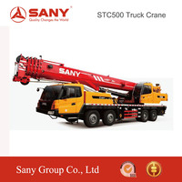 SANY STC500 50 Tons Energy Saving Mounted Mobile Wheel Truck Crane for Sale