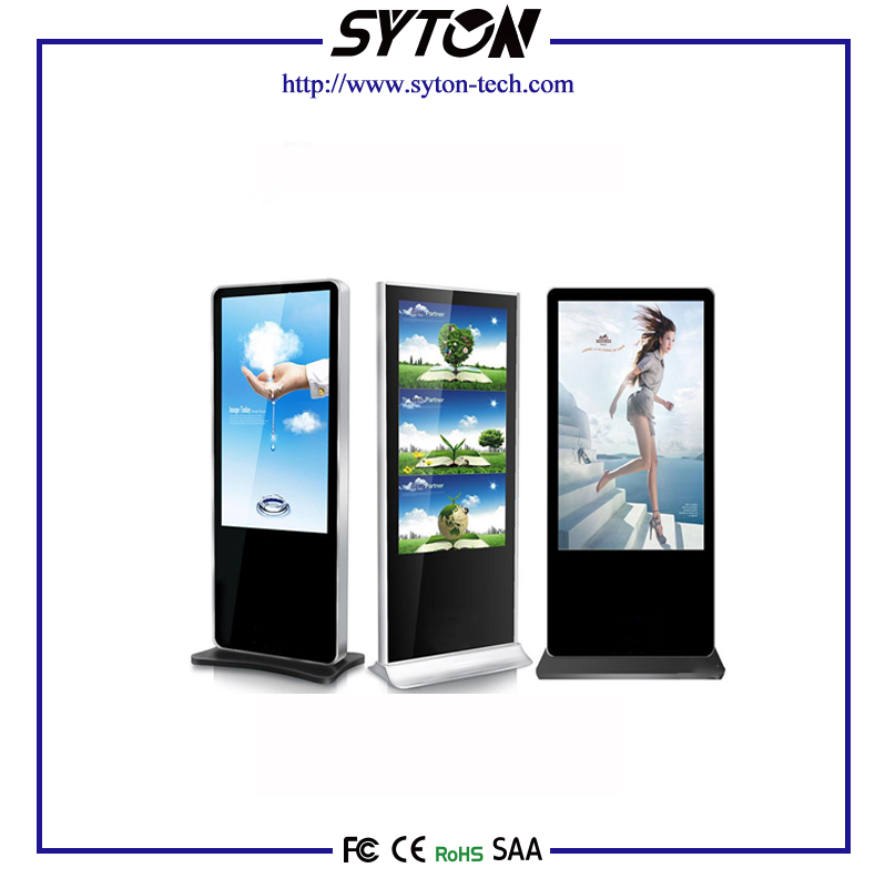 42 Inch LG Panel Floor Standing Digital Signage AD Player