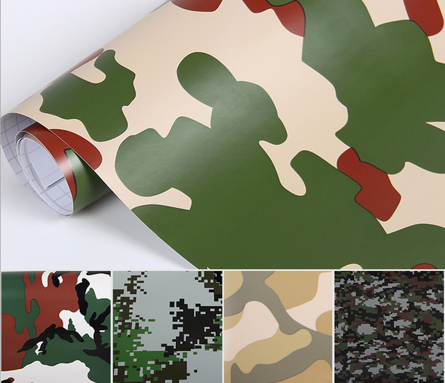 car sticker parts vehicle camouflage wrap holographic vinyl camo car vinyl wrap