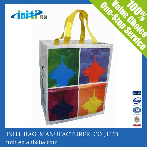 Initi Reusable Trolley Folding Shopping Bags / Trolley Bags Supermarket