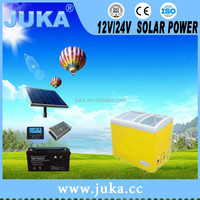 2016 Hangzhou Juka 88L-408L low price solar freezer for dubai and solar powered refrigerator fridge freezer