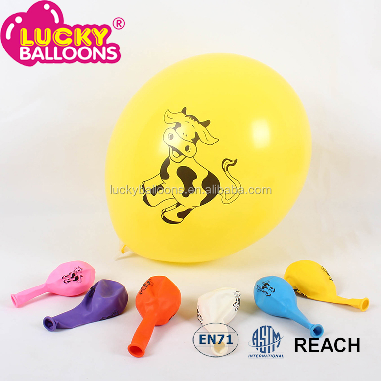 pink balloons inflator high quality printed latex balloons