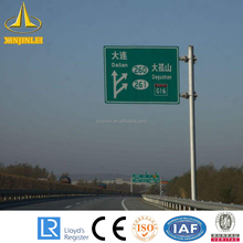 Galvanized Steel Traffic Signs and Pole