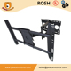 "Heavy Duty Extendable Swivel Arm 125lbs Telescoping LCD Plasma Tilt TV Wall Mount For 32""-60"" Displays"