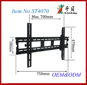 High Quality Universal tilting mount/Vesa standard Lcd TV Bracket