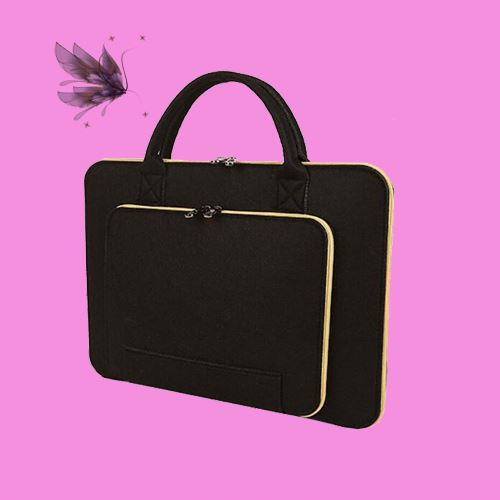 slim fabric zipper closure tablet 18inch 15.6 laptop case for ipad mini2
