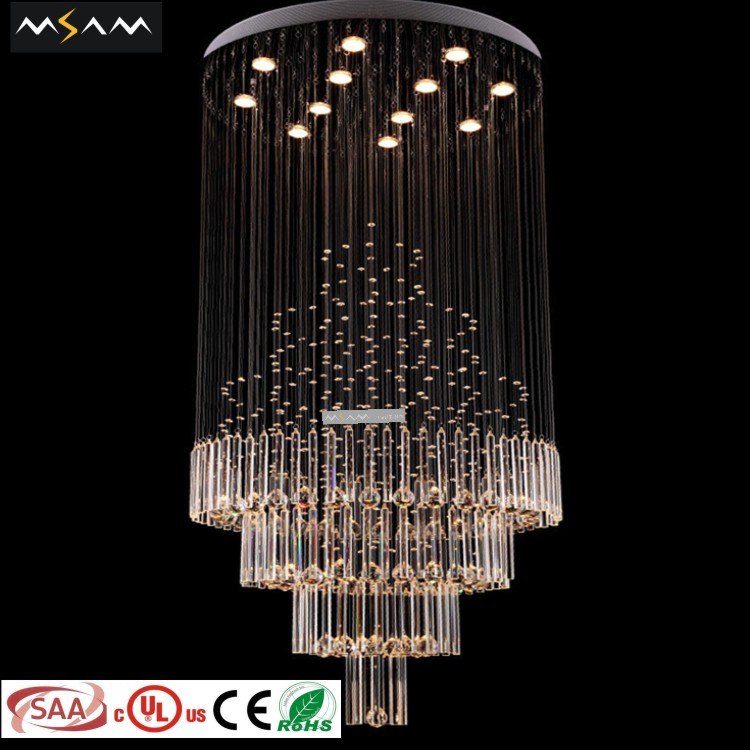 China ceiling lights crystal ceiling pendant light led round ceiling panel light