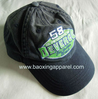 custom base ball daddy cap hat