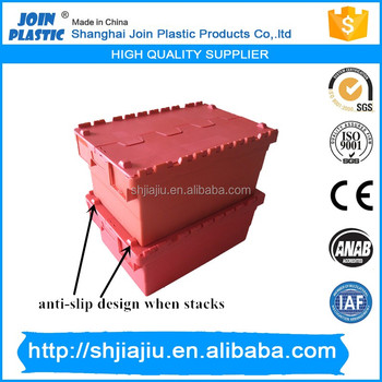 Durable plastic boxes with lids,plastic moving boxes