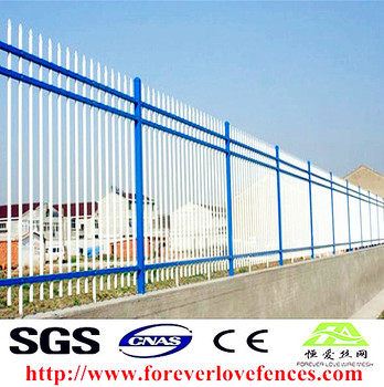 Australia Canada construction site removable steel tube cheap temporary fence for sale