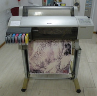 Used Large Format A1 Transfer Sublimation Printers 7600 for Digital Indoor Heat Transfer Printing