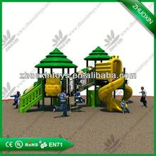 Eco-friendly outdoor playground,playground stainless steel slides