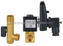 "PT type 1/2"" electronic auto drain valve with timer for air compressor condensate"