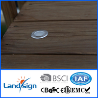Waterproof outdoor decorative stainless low power led deck light